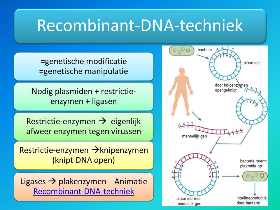 Recombinant-DNA-techniek