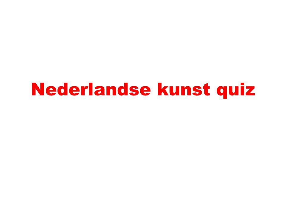 Nederlandse kunst quiz