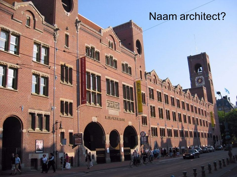 Naam architect