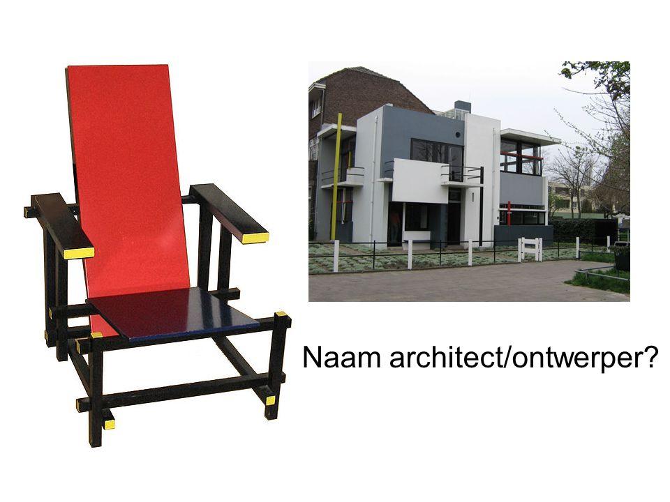 Naam architect/ontwerper