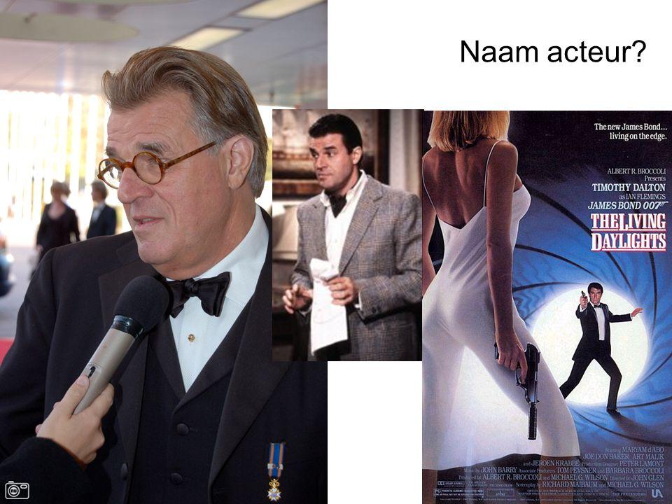 Naam acteur