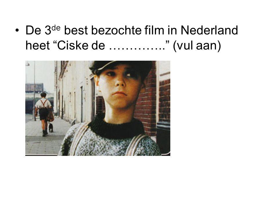 De 3de best bezochte film in Nederland heet Ciske de ………….. (vul aan)