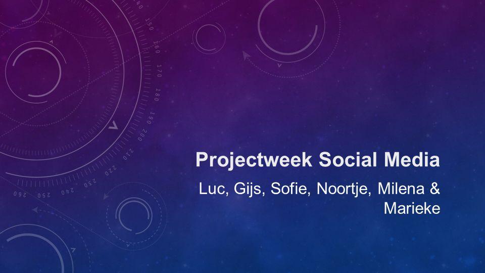 Projectweek Social Media