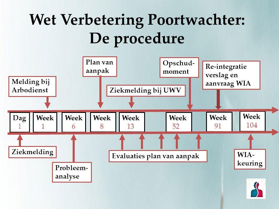 Wet Verbetering Poortwachter: De procedure