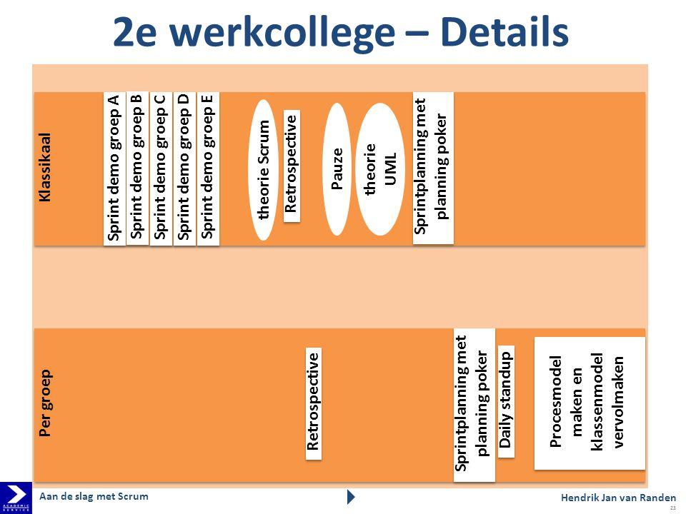 2e werkcollege – Details
