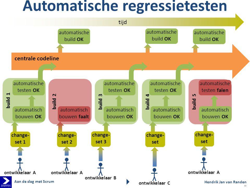 Automatische regressietesten