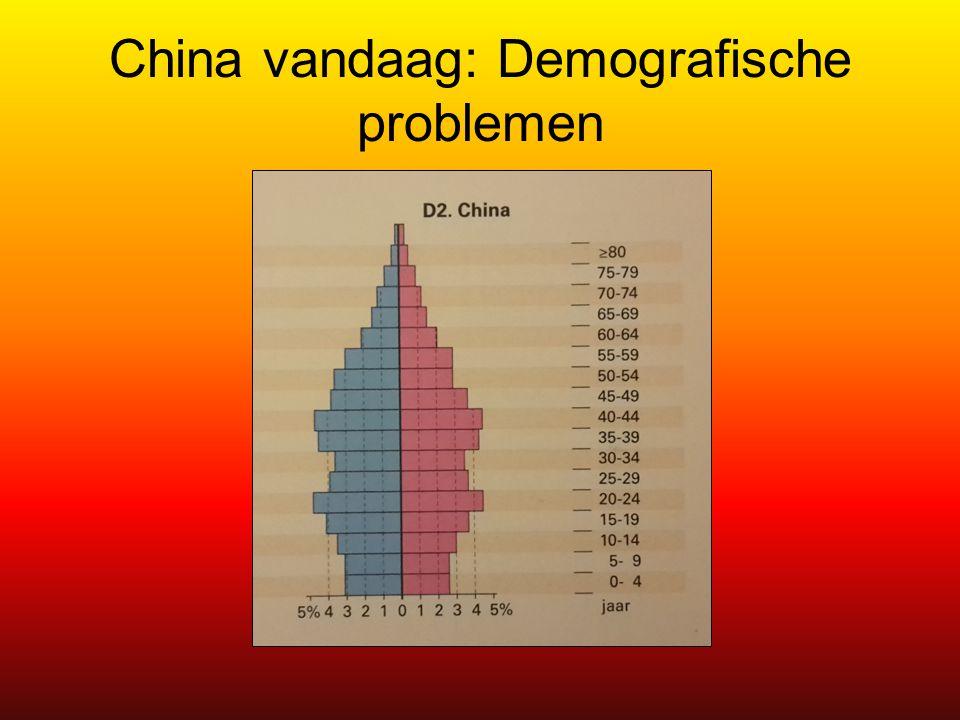 China vandaag: Demografische problemen