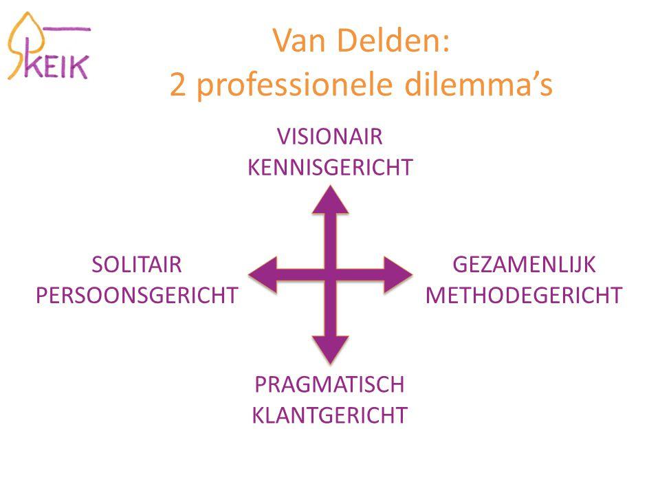 Van Delden: 2 professionele dilemma's