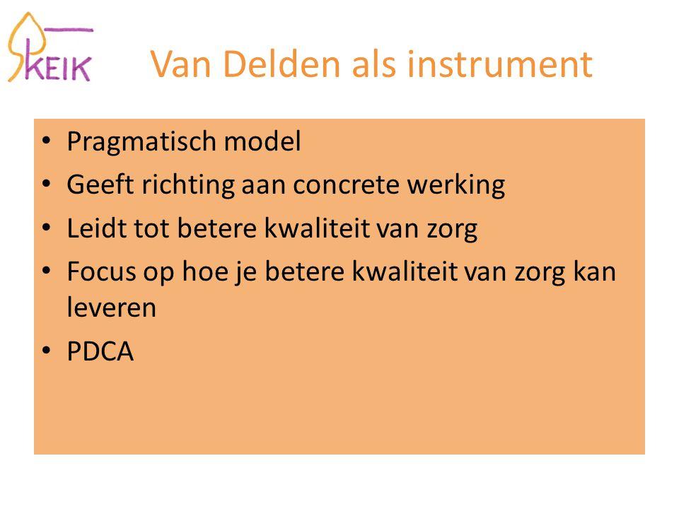 Van Delden als instrument