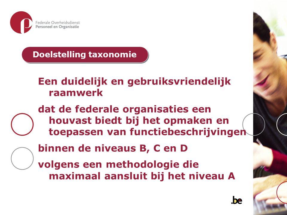 Doelstelling taxonomie