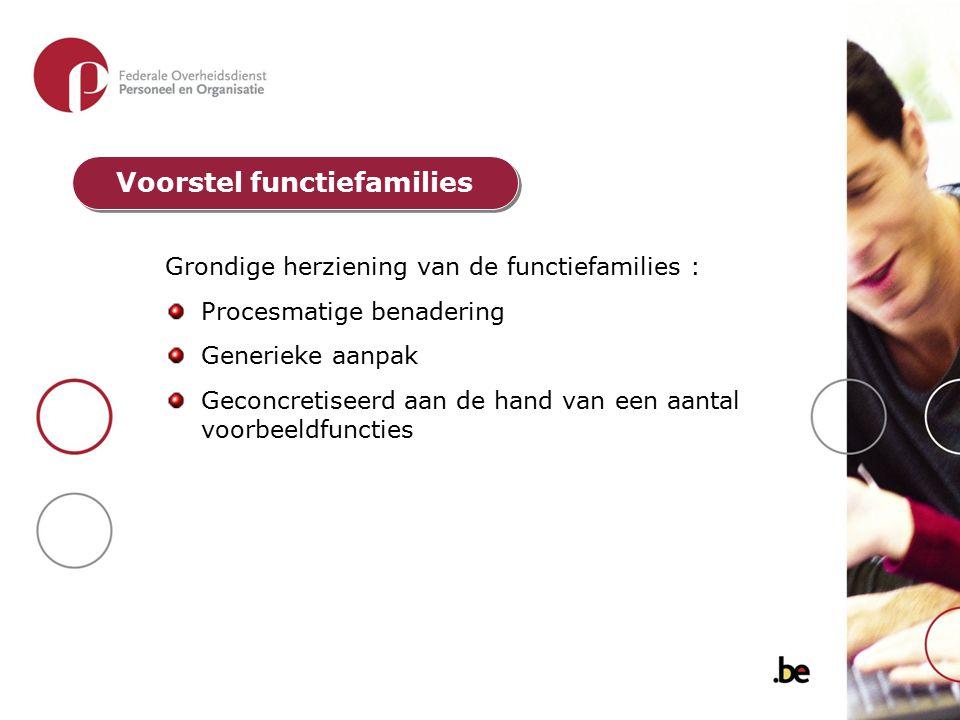 Voorstel functiefamilies