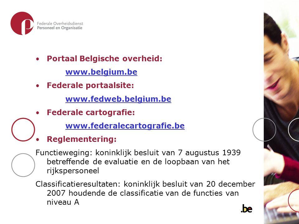 Portaal Belgische overheid: