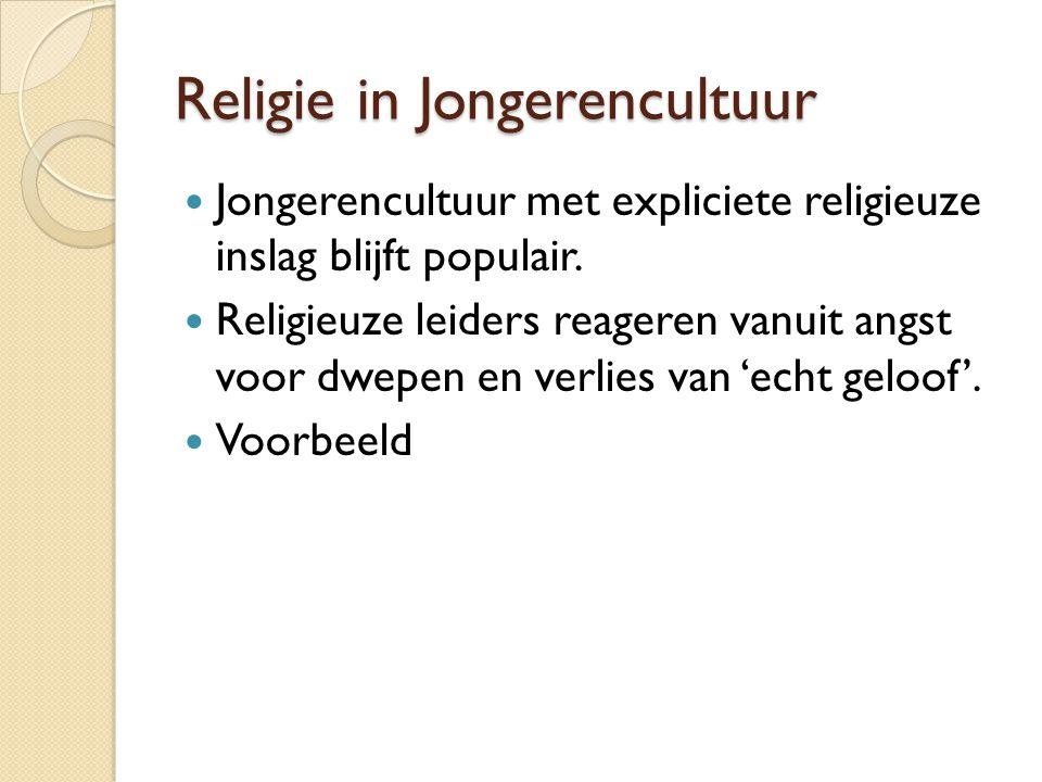 Religie in Jongerencultuur
