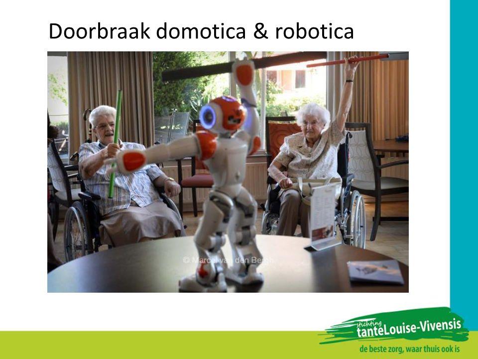 Doorbraak domotica & robotica