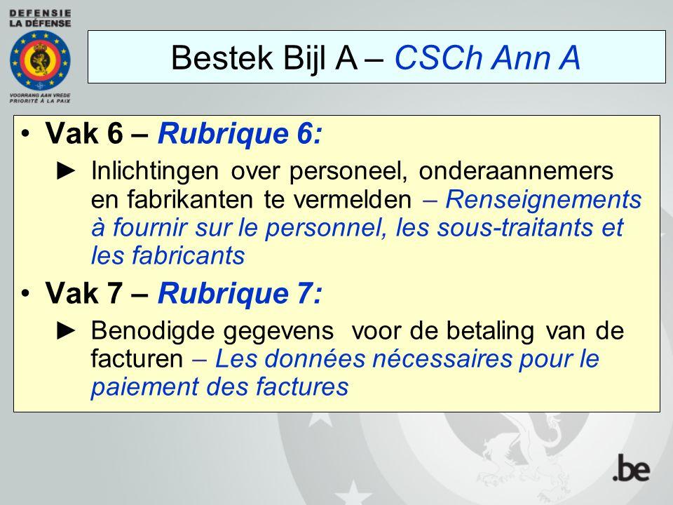 Bestek Bijl A – CSCh Ann A