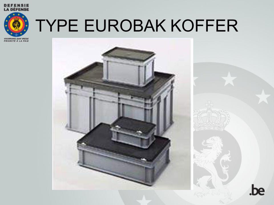 TYPE EUROBAK KOFFER