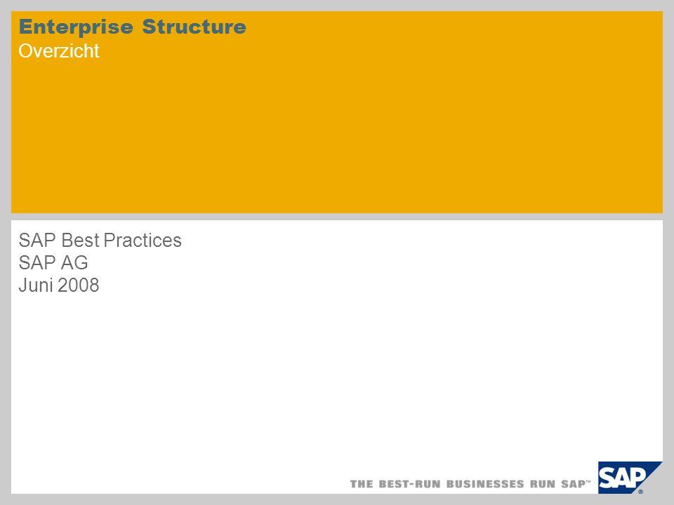 Enterprise Structure Overzicht