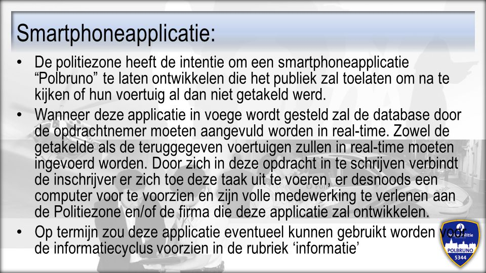 Smartphoneapplicatie: