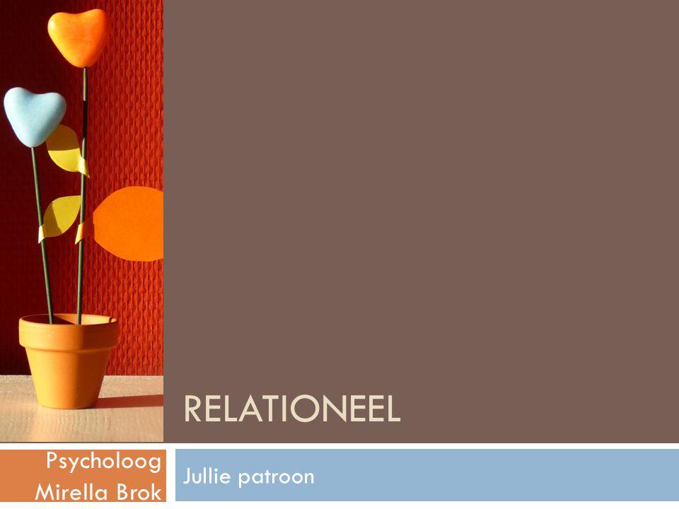 Relationeel Psycholoog Mirella Brok Jullie patroon