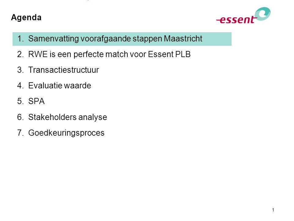 Logica aandeelhoudersbesluit 27 juni 2008 en de start van project Maastricht