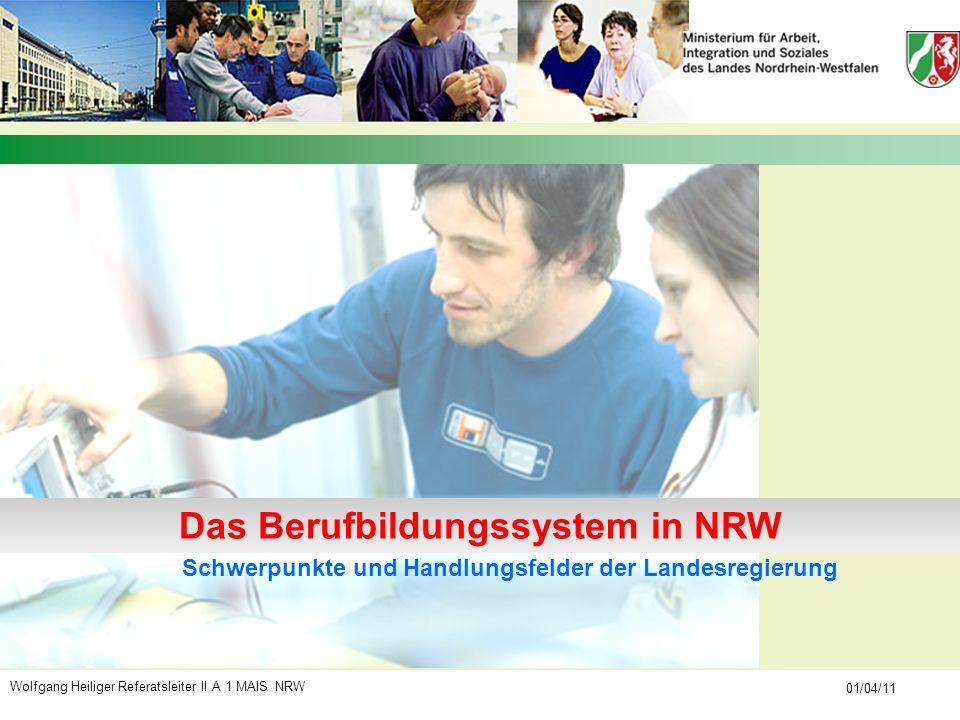 Das Berufbildungssystem in NRW