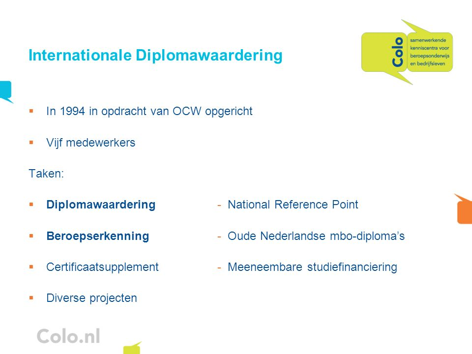 Internationale Diplomawaardering