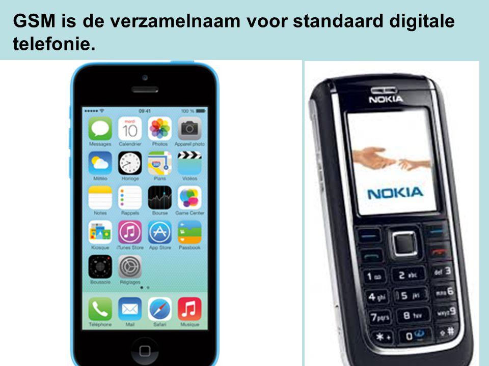 GSM is de verzamelnaam voor standaard digitale telefonie.
