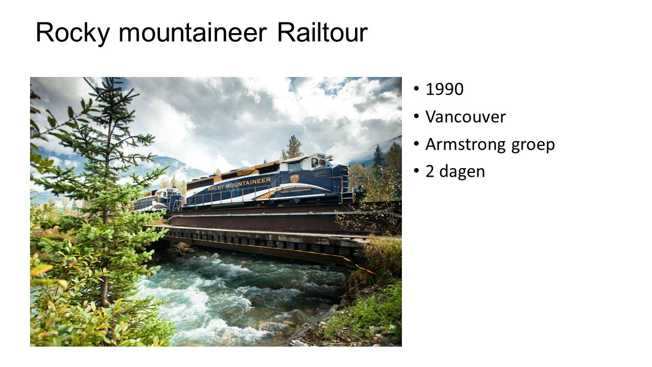 Rocky mountaineer Railtour