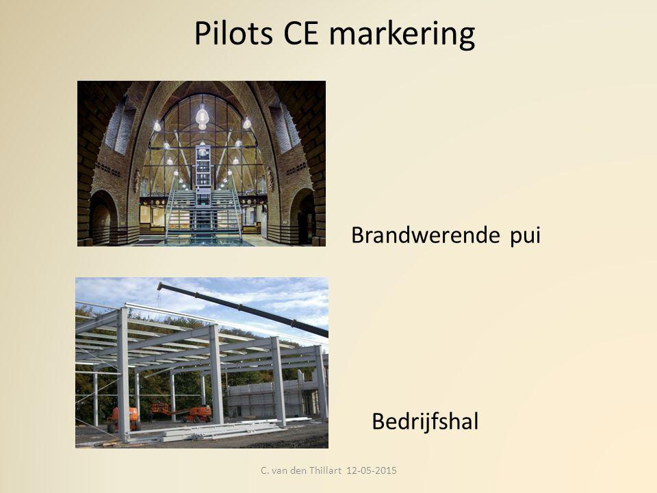 Pilots CE markering Brandwerende pui Bedrijfshal