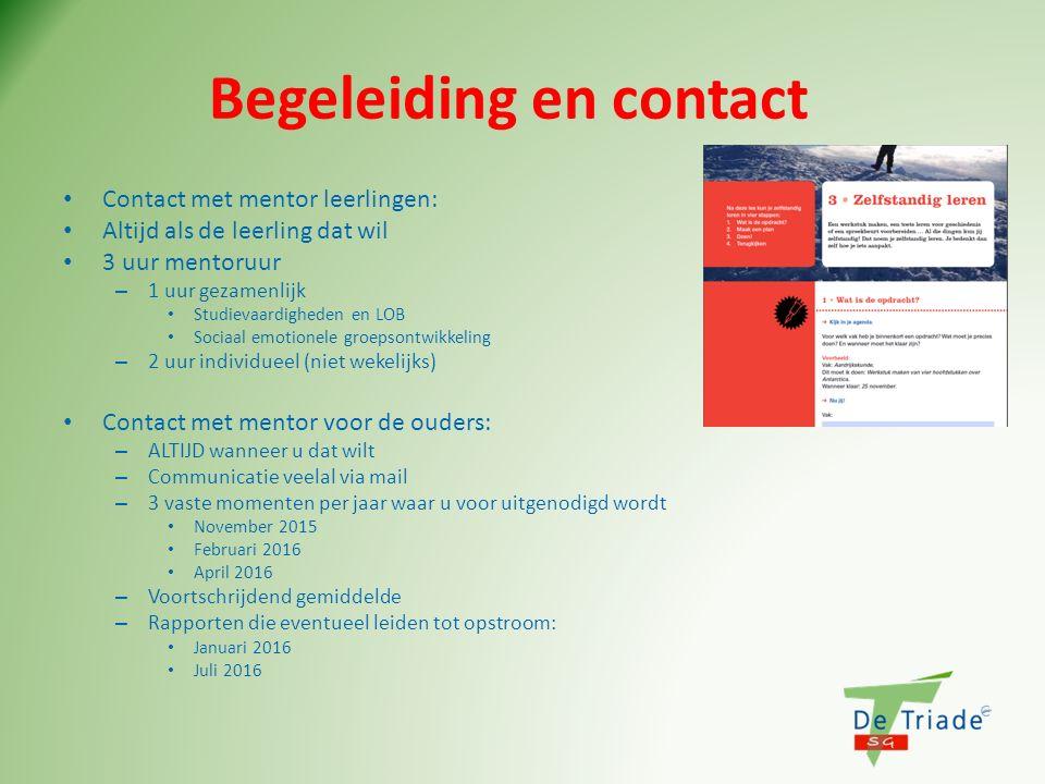 Begeleiding en contact