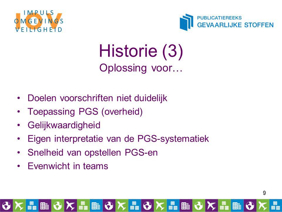 Historie (3) Oplossing voor…