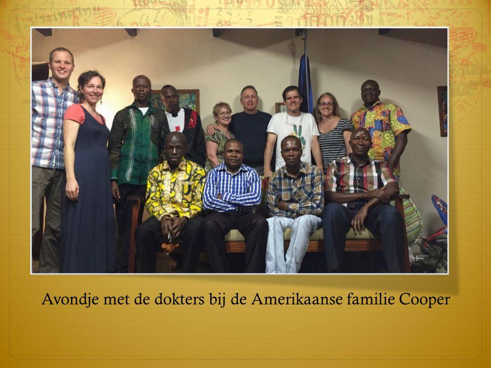 Avondje met de dokters bij de Amerikaanse familie Cooper