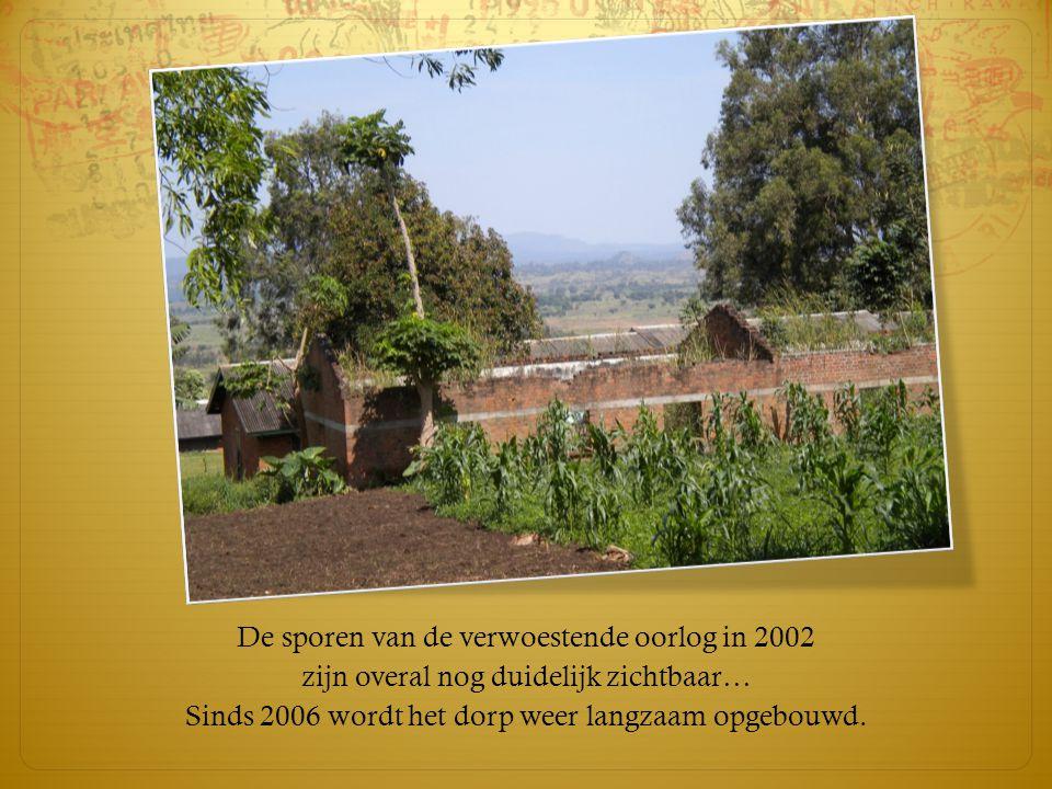 De sporen van de verwoestende oorlog in 2002