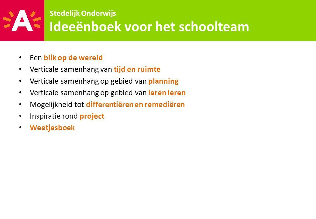 Ideeënboek voor het schoolteam