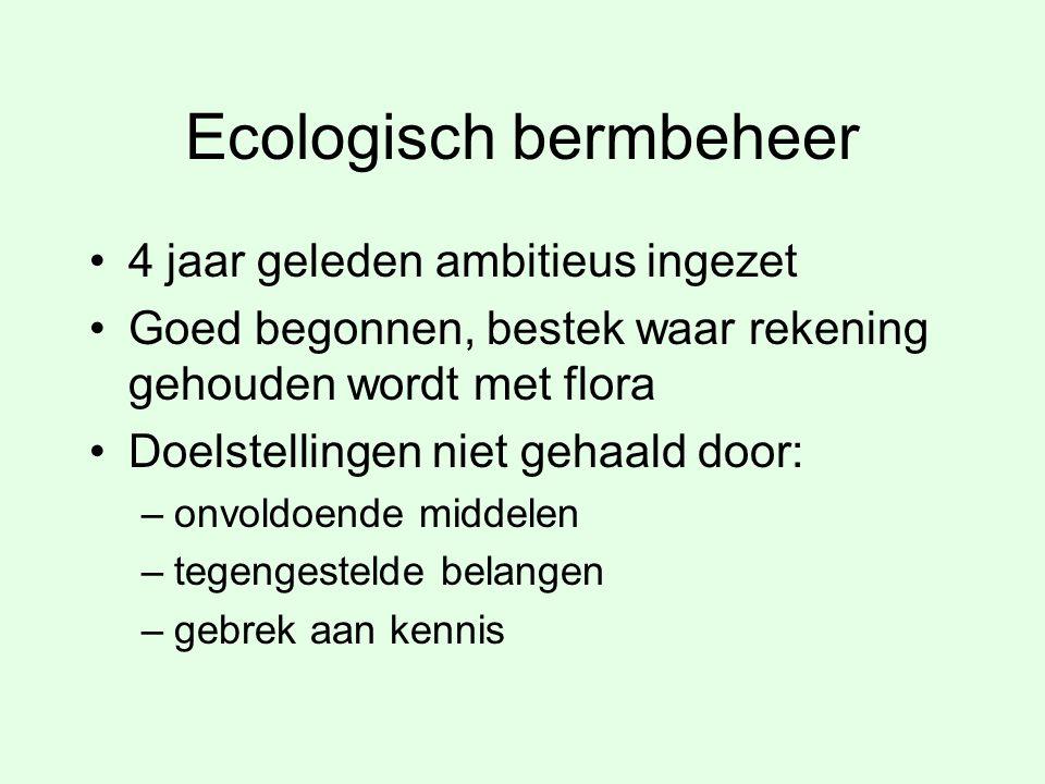 Ecologisch bermbeheer