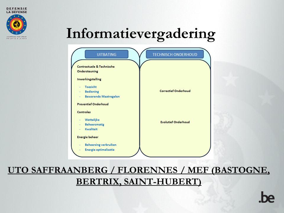 UTO SAFFRAANBERG / FLORENNES / MEF (BASTOGNE, BERTRIX, SAINT-HUBERT)