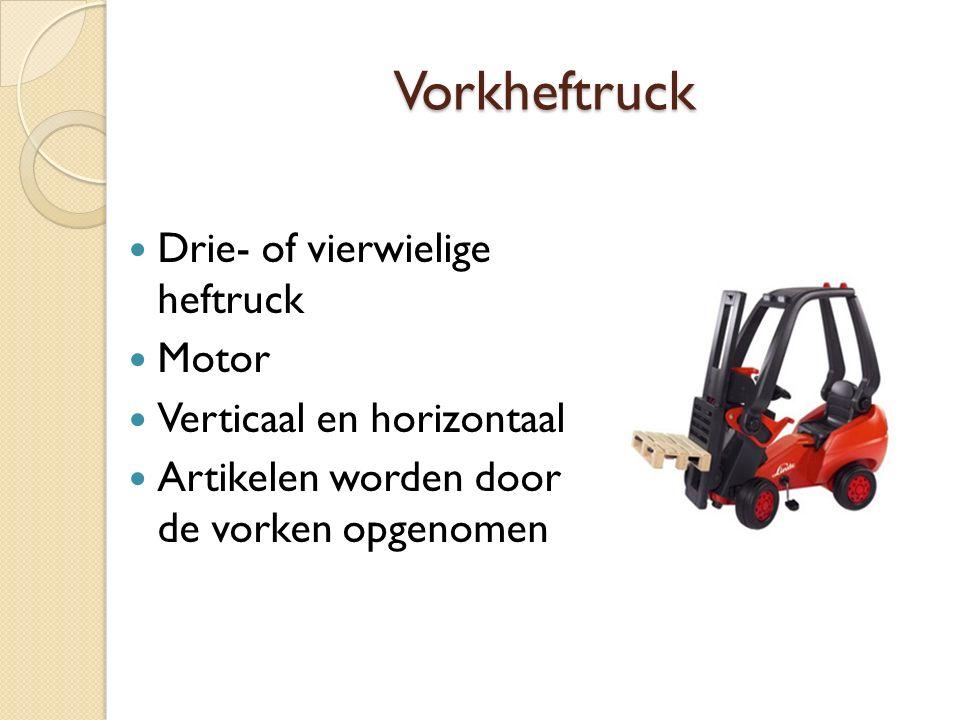 Vorkheftruck Drie- of vierwielige heftruck Motor