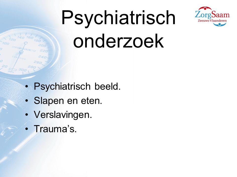 Psychiatrisch onderzoek