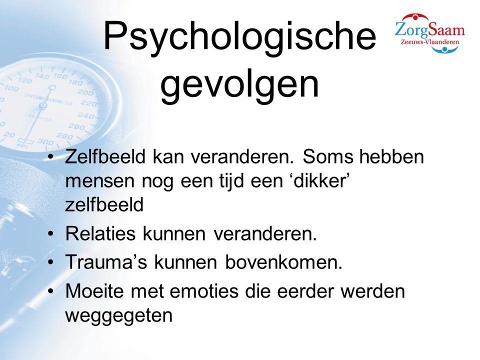 Psychologische gevolgen