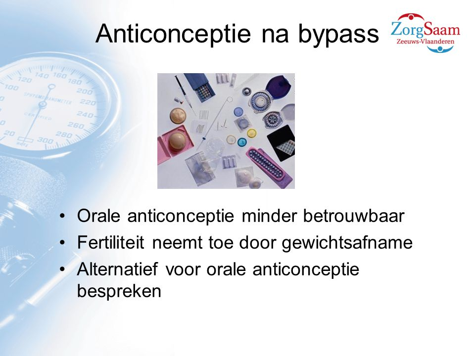 Anticonceptie na bypass