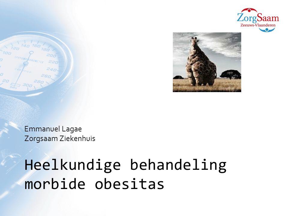 Heelkundige behandeling morbide obesitas