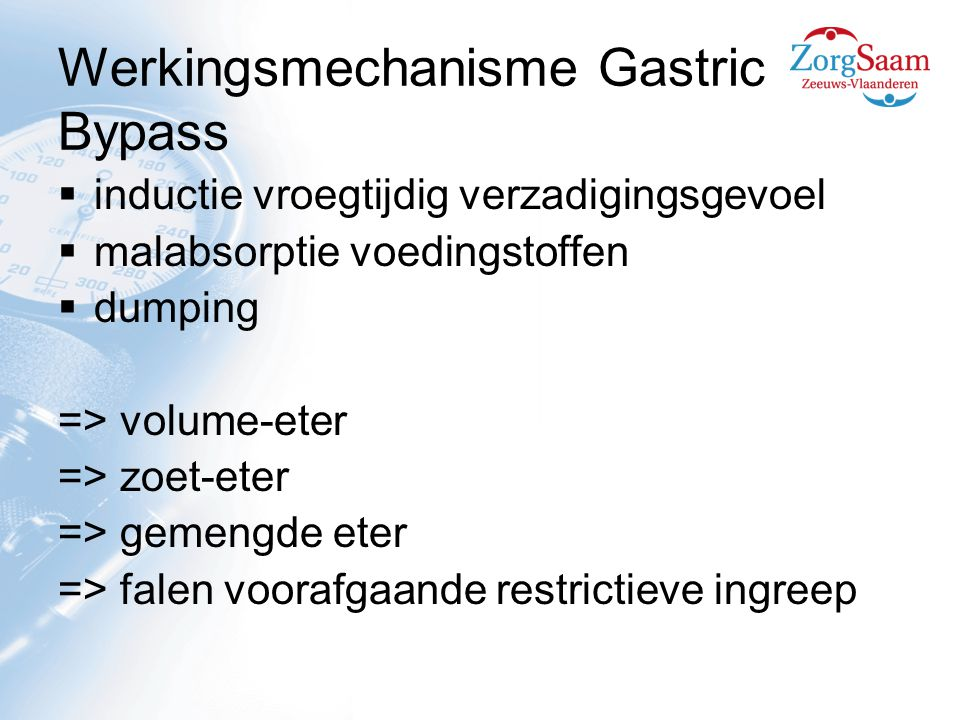 Werkingsmechanisme Gastric Bypass
