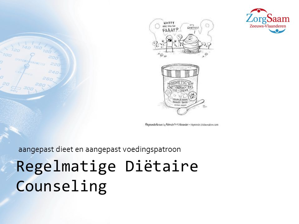 Regelmatige Diëtaire Counseling