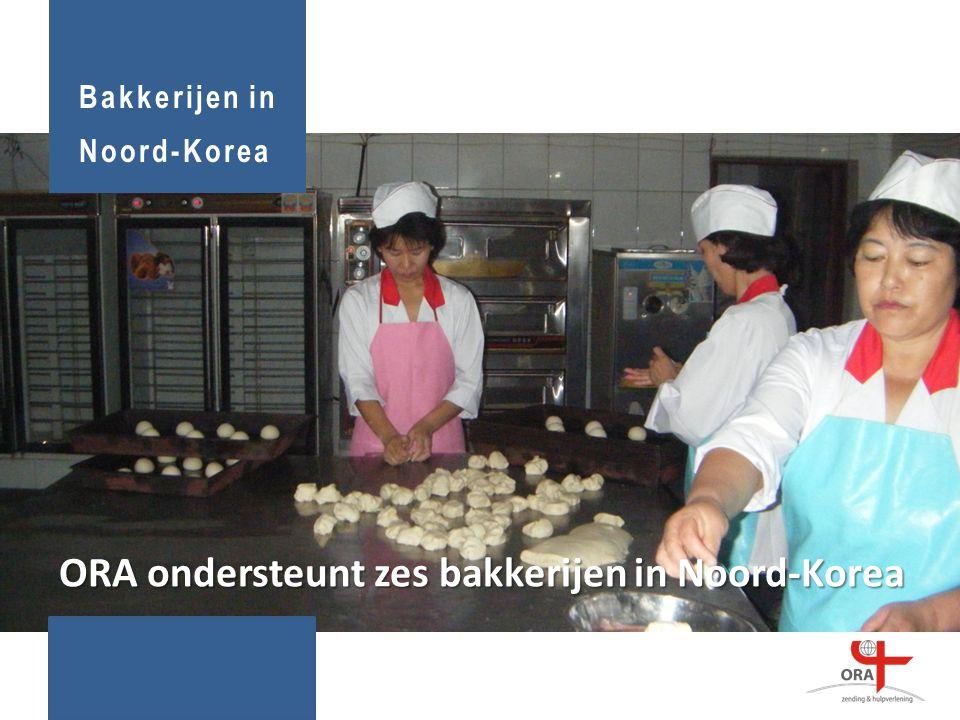 Bakkerijen in Noord-Korea