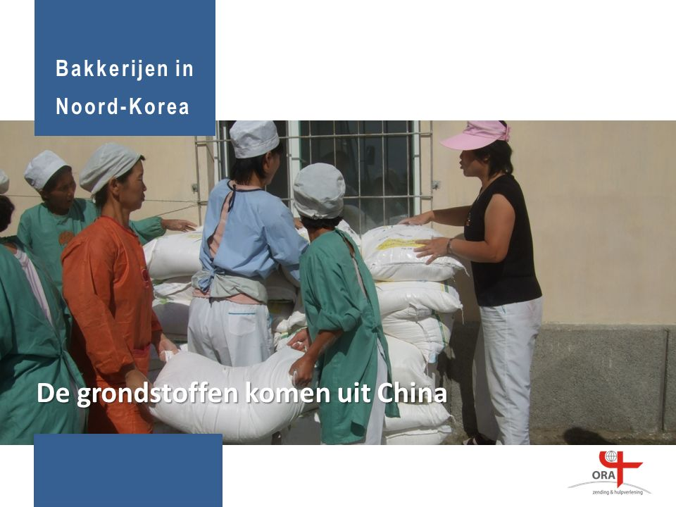 De grondstoffen komen uit China