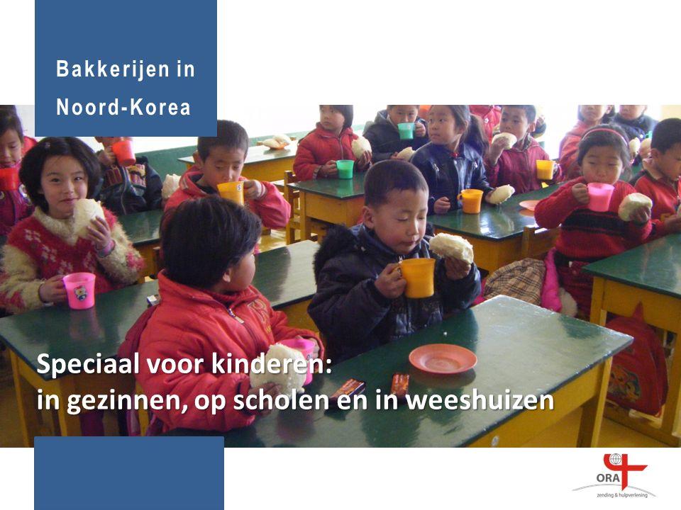 Speciaal voor kinderen: in gezinnen, op scholen en in weeshuizen