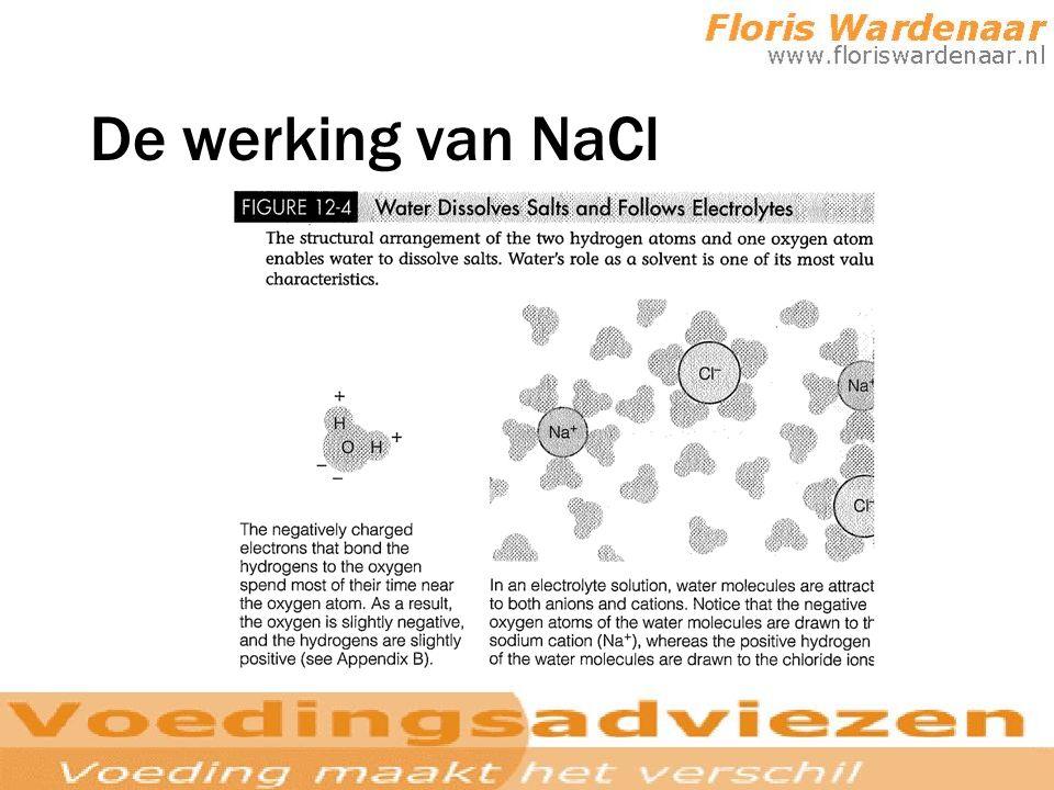 De werking van NaCl