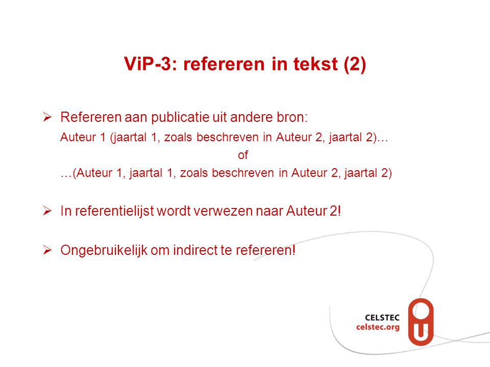 ViP-3: refereren in tekst (2)