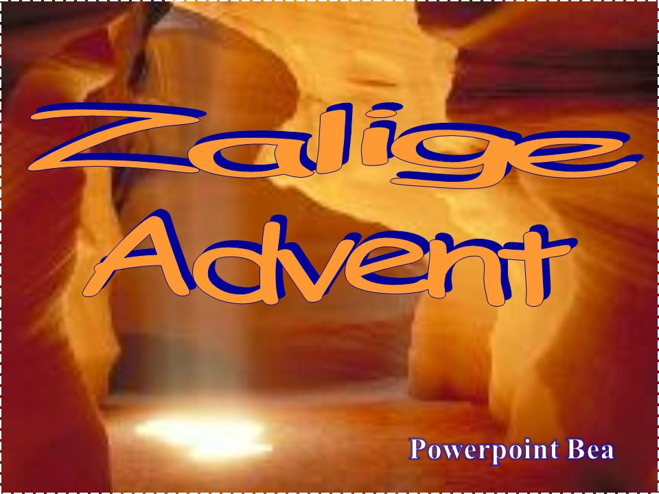 Zalige Advent Powerpoint Bea
