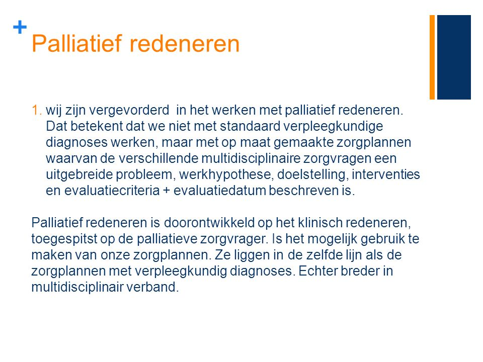 Palliatief redeneren